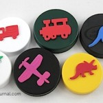 Make Plastic Lid Stamps