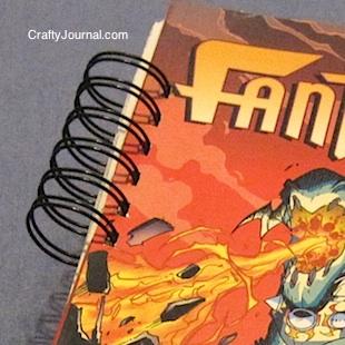 Crafty Journal - Repair a Paperback Book