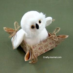 Crafty Journal - Pretty Paper Basket