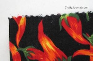 Crafty Journal - Easy Reusable Fabric Gift Bag