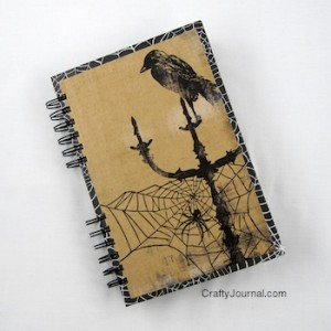 Crafty Journal Haunted Journal