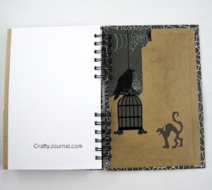Crafty Journal - Haunted Journal