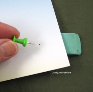 Crafty Journal - Tiny Hole Punch Tip