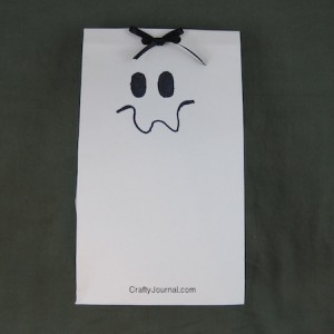 Crafty Journal - Ghost Favor Bag