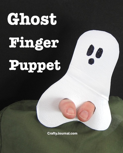 Ghost Finger Picket from a Milk Jug by Crafty Journal
