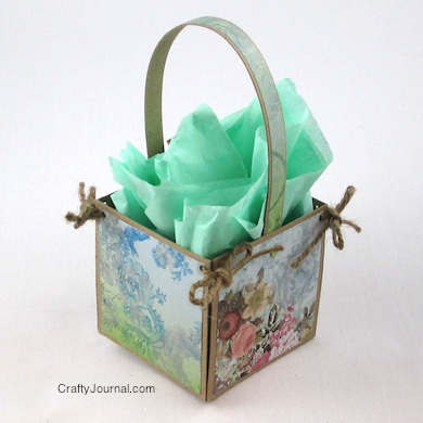 Easter Basket - Crafty Journal