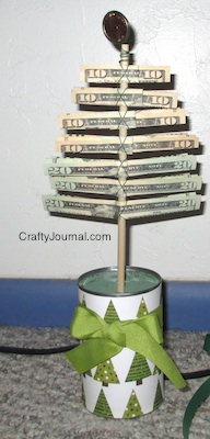 Christmas Money Tree - Crafty Journal