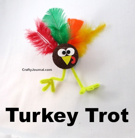Turkey Trot by Crafty Journal