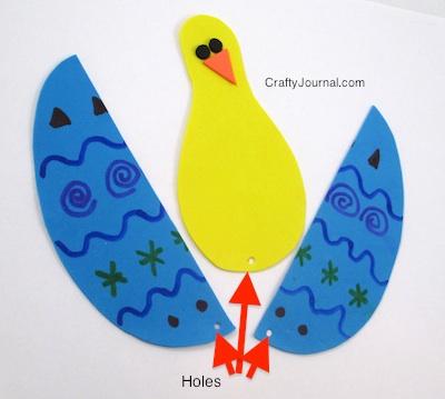 Peek a Boo Peep - Crafty Journal