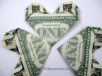 Dollar Bill Shamrock - Crafty Journal
