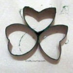 TP Tube Shamrock Stamp