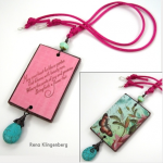 Colorful Reversible Necklace - Jewelry Making Journal