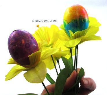 Easter Egg Bouquet - Crafty Journal