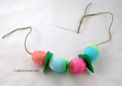 Easter Egg Necklace - Crafty Journal