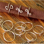Wire Wrap Rings - Jewelry Making Journal