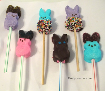 Peep Pops -Crafty Journal
