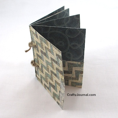 Basic Folded One Sheet Pocket Book - Crafty Journal