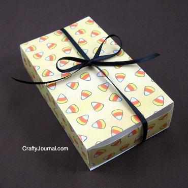 Matchbox Gift Box - Crafty Journal