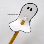 Spooky Ghost Pencil Topper