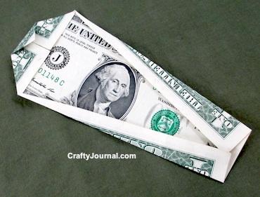 Dollar Bill Skull by Crafty Journal