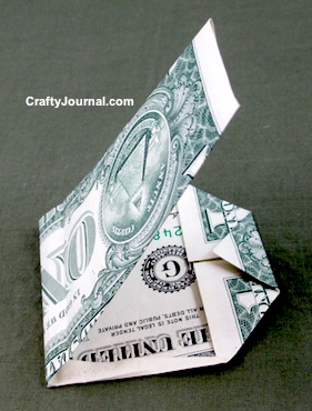 Dollar Bill Skull by Crafty Journal