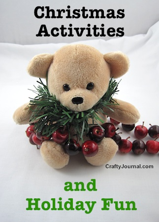 Ideas for Christmas Activities by Crafty Journal