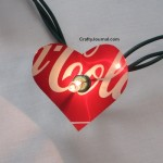 Heart Soda Can Lights