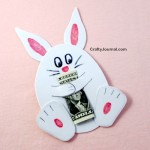 Bunny Money Hugs by Crafty Journal