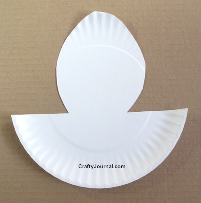Easy Paper Plate Pop Up Bunny by Crafty Journal