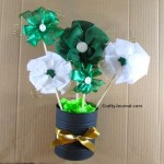St. Patrick's Day Ribbon Bouquet