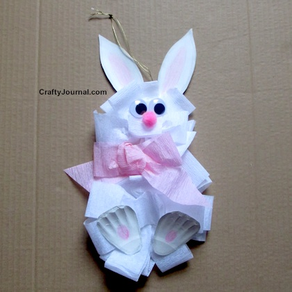 Big Bow Bunny by Crafty Journal