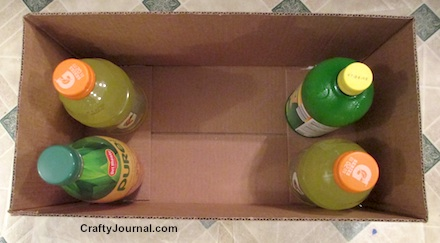How to Make a Cardboard Box Sturdier by Crafty Journal