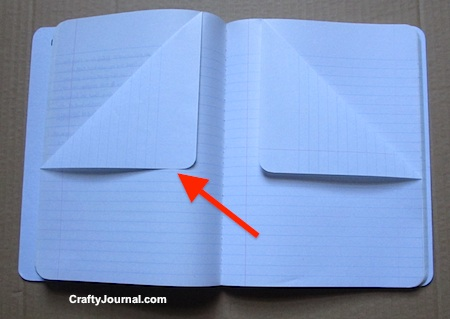 How to Make a Pocket Page in a Book by Crafty Journal