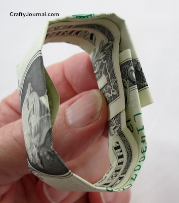 Dollar Bill Graduation Cap by Crafty Journal