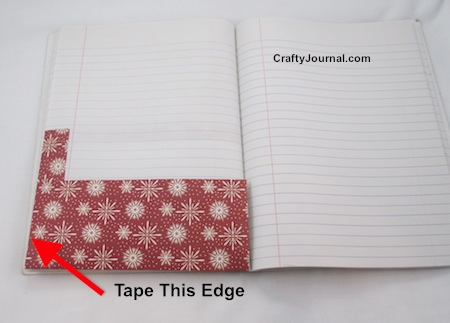 Pocket Page in a Book - #2 Idea by Crafty Journal