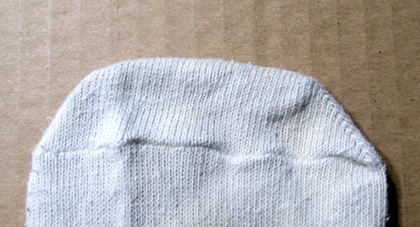 Comfortable Sock Tip for Fussy Feet by Crafty Journal