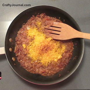 Cheesy Chili Dip Makes an Easy Meal by Crafty Journal