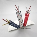 Paper Plate Pop Up Firecrackers