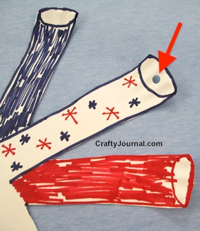 Easy Paper Plate Pop Up Firecrackers by Crafty Journal