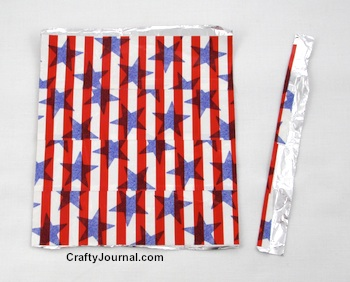 Duct Tape Checkbook Cover with a Security Feature by Crafty Journal