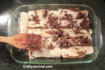 Easy Epic Enchiladas by Crafty Journal