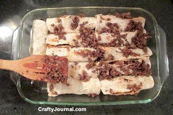 Easy Epic Enchiladas by Crafty Journal