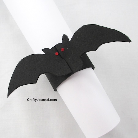 Pet Vampire Bat Bracelet by Crafty Journal