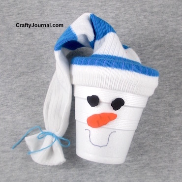 Snowman Gift Package by Crafty Journal