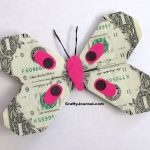 Dollar Bill Butterfly