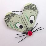 Dollar Bill Heart Mouse