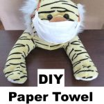 DIY Paper Towel Face Mask