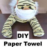 DIY Paper Towel Face Mask